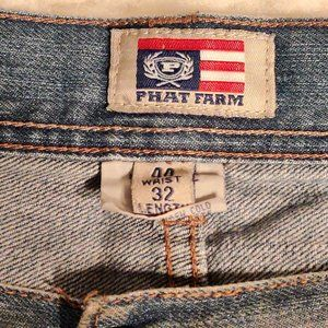 Phat Farm  VTG  Original Flava Streetwear Jeans 44